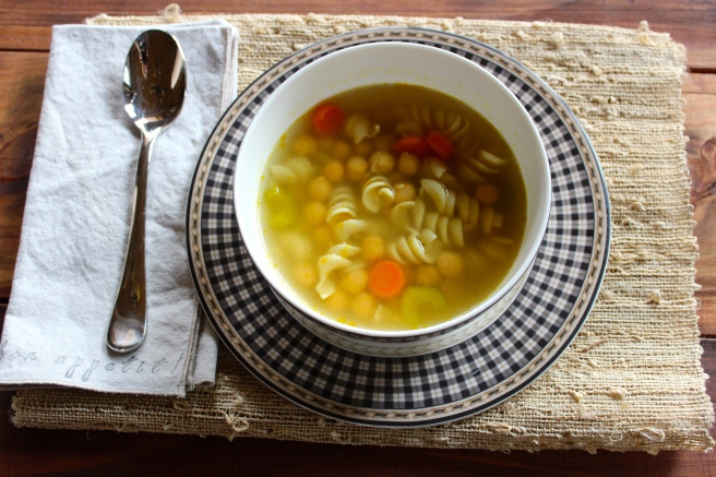 chickpea noodle soup vegetarian